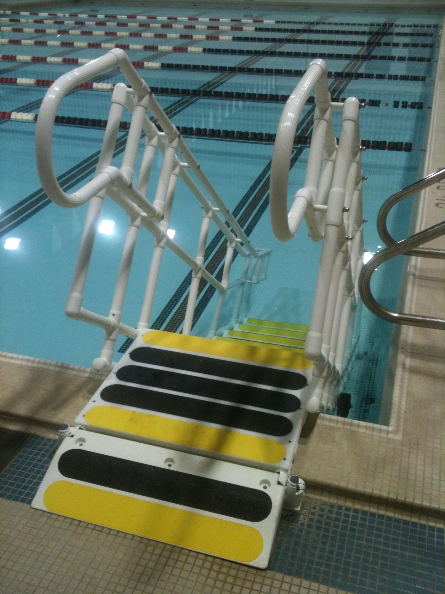 Aquatrek Ada Pool Steps